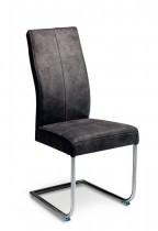 Dresden-chair,-grey-fabric